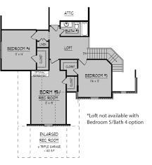 Attic Floor Plans by Innisbrook Floor Plans Regency Homebuilders