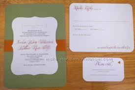 simple wedding invitations make simple wedding invitations with inkjet printer card