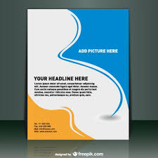 brochure design free templates poster template vector free