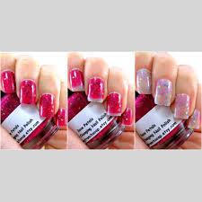 color changing nail polish glitter mood nail polish rose