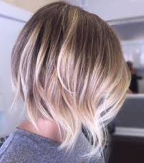 chin cut hairbob with cut in ends yeah this one is awesome full balayage and a killer razor