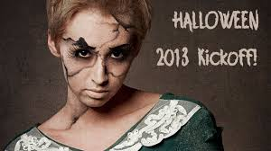 sad broken doll tutorial halloween 2013 youtube