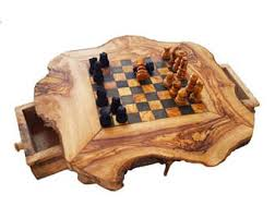 Chess Table And Chairs Chess Table Etsy