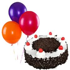 balloon and cake delivery cakes with flowers cake delivery in india send cakes with flowers