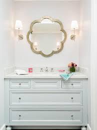 White Bathroom Cabinet With Mirror - bathroom vanity mirror houzz