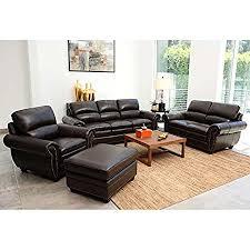 leather livingroom set winger 4 leather living room set zipshop