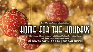 home for the holidays evening the orlando philharmonic orchestra