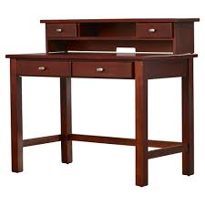 Small Cherry Wood Desk Magnificent Desk With Small Hutch Solid Wood And Wood Veneer