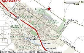 petaluma ca map dairydell canine and boarding in petaluma california