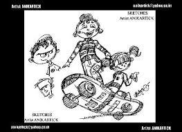 2d animator anikartick u0027s pencil drawing line drawing 01 u2026 flickr