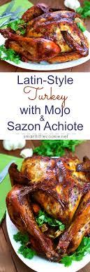 style turkey with mojo and sazón achiote criollo style