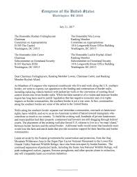 Letter Of Intent Construction by Vela And Grijalva Letter Opposing Funding And Construction Of