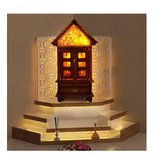 How To Decorate Home Temple Pooja Mandirs Online Swasthy Sreekovil Home Decor Wooden