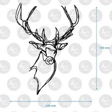 wooden stag wall stag wooden wall designer wood wall decor by hu2