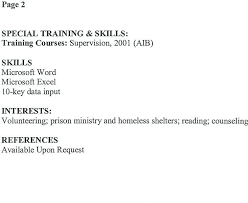 job resume skills lukex co