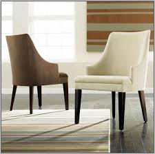 catchy upholstered dining room chairs with arms and dining chairs
