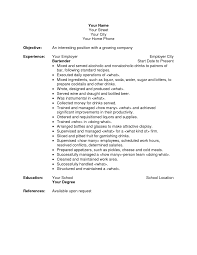 great resume layouts resume objective examples for bartender frizzigame great resume sample bartender featuring good summary and good