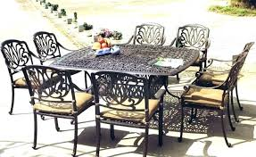 Garden Patio Table 8 Seater Garden Table 8 Seat Outdoor Dining Table Stylish 8 Seat