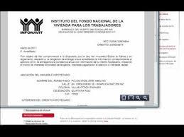 constancias de intereses infonavit 2015 como imprimir la constancia de interes del infonavit mp4 youtube