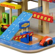 wooden multi storey car park and garage wooden multi storey car