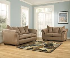 Set Of Chairs For Living Room by Signature Design By Ashley Darcy Mocha Contemporary Upholstered