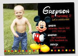 mickey mouse birthday invitations mickey mouse birthday invitations templates free amazing