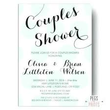 couples wedding shower invitations couples wedding shower invitations ryanbradley co