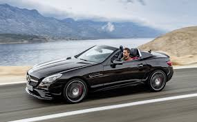 mercedes convertible the motoring world the new mercedes benz slc convertible gets a