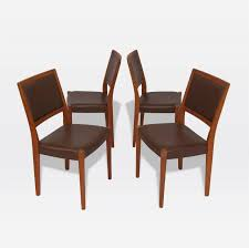 Set Of Teak Dining Table Svegards Markaryd Set Of Four Teak Dining Chairs For Sale At 1stdibs