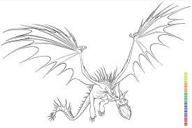bild mmonstrous nightmare train dragon coloring