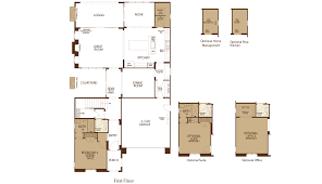 messina at orchard hills new homes for sale in irvine ca residence 1 first floor