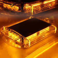magnetic base strobe light 40 led emergency strobe light with magnetic base