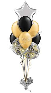 40th birthday balloons delivered congratulations balloon bouquet 9 balloons delivered by