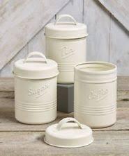 white canister sets kitchen unbranded kitchen canister sets ebay