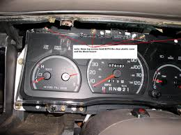 2003 ford focus instrument cluster lights how to how to access and replace dash guage or instrument cluster
