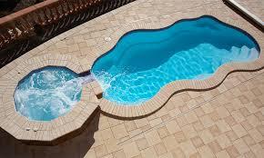 fiberglass swimming pool paint color finish viking blue 4 calm