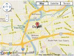 dayton map dayton ohio dayton100 com search for local classifieds