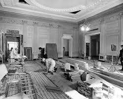 White House Interior Pictures by When President Truman Utterly Gutted The White House