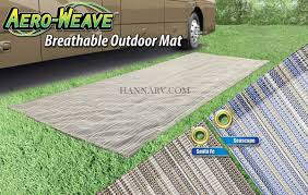 Rv Outdoor Rug Prest O Fit 2 3000 Aero Weave 6 Foot X 15 Foot Rv Awning