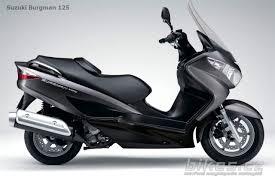 suzuki burgman 125 2007 názory motorkářů technické parametry