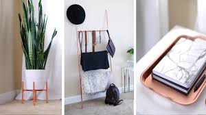 diy copper plant stand accessory ladder home decor ann le