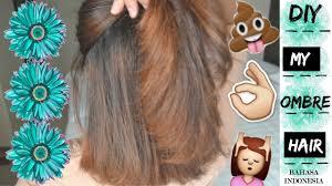 Gambar Tutorial Ombre Rambut | hd tutorial cara bikin rambut ombre diy balayage ombre hair