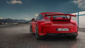 porsche 911 gt3 modified 2018 porsche 911 gt3 bows with 500 hp 4 0 liter and six speed manual