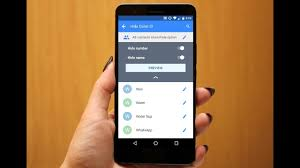 how to hide number on android how to hide incoming caller name number in android phone tablet