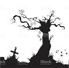 creepy tree stock vector art 165041083 istock