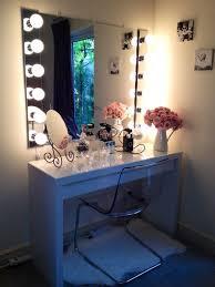 Tall Vanity Stool Bedroom Furniture Sets Vanity Set With Mirror Light Bedroom