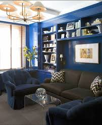 Blue And Brown Decor Dark Blue And Brown Living Room Interior Design