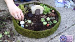 how to make a miniature fairy garden step by step youtube