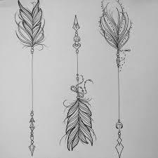 best 25 feather arrow ideas on arrow tattoos