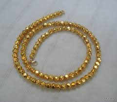bead necklace gold images Vintage 22k gold beads necklace gold beads chain gold necklace jpg